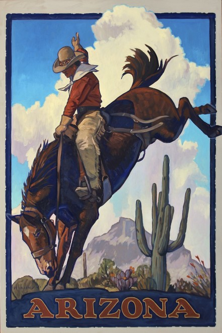 Dennis Ziemienski, Arizona Cowboy