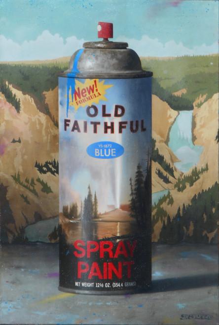 Ben Steele, Old Faithful Spray Paint