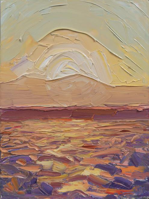 Jivan Lee, A Sea of Sage at Sunset
