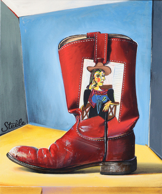 Ben Steele, Picasso Period Boot