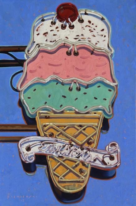 Dennis Ziemienski, Ice Cream Light