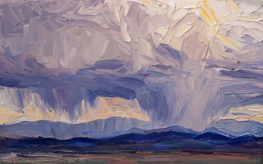 Storm South of Santa Fe
