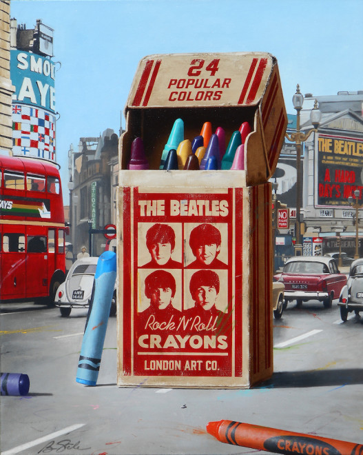 Ben Steele, Rock and Roll Crayons, 2019