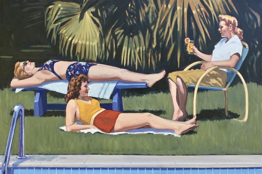 Dennis Ziemienski, The Sunbathers