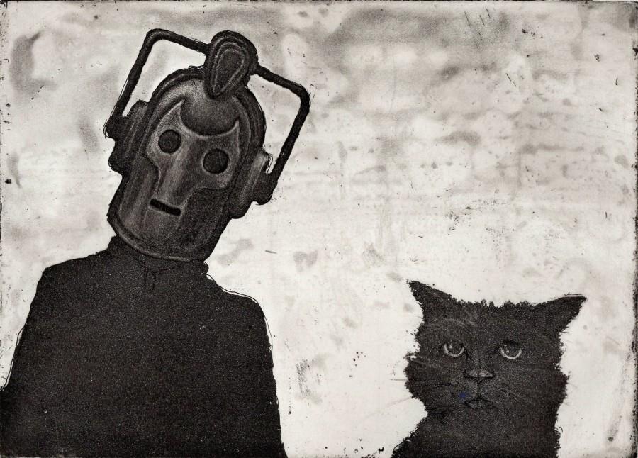 Cyberman and Cat