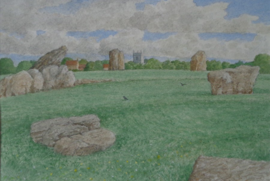 Church and Stones, Stanton Drew