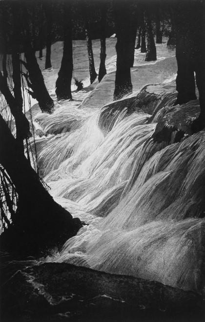 Waterfalls Through Shadows III