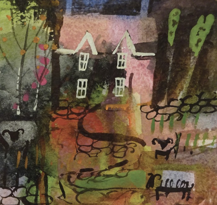 Cottage and the Flock