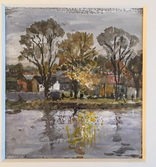 Autumn on the Thames, Chiswick