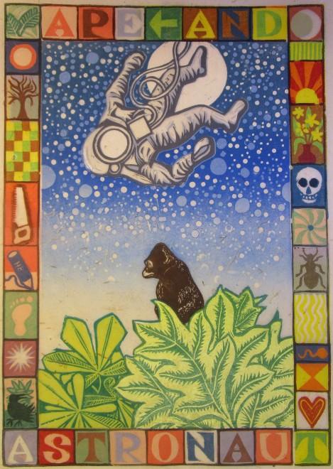 Sapiens (Ape and Astronaut)