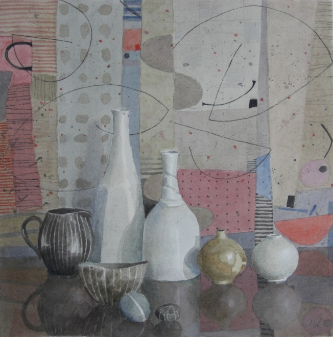 Still Life with Two Pebbles