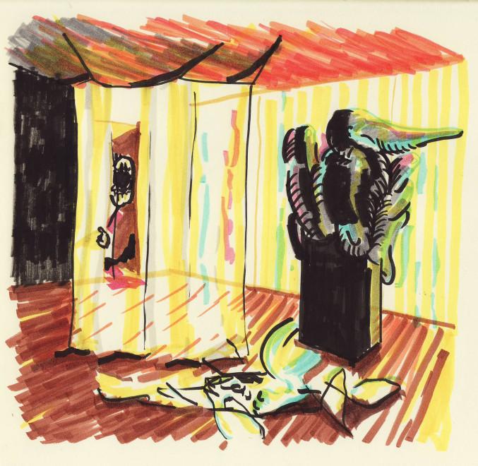 Joe Madeira, Invisible Room no. 7, 2018