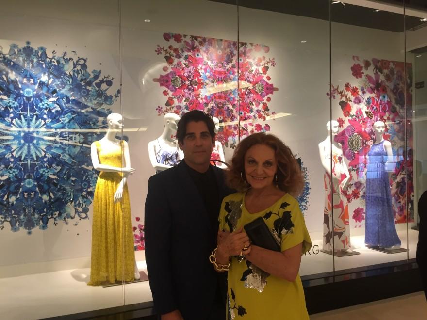 Collaboartion Diane Von Fustenberg SAKS Fifth Avenue