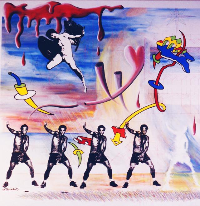 Fracturism Una Imagen del Resultado, 1993