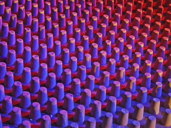 En la Arena Sabrosa, NY, (detail of installation)