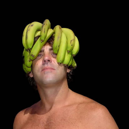 Background Series, Self Portrait with Bananas, 2007