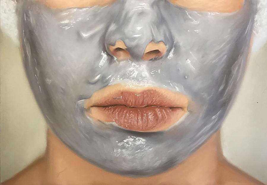 Oliver Jones, Face Mask , 2017