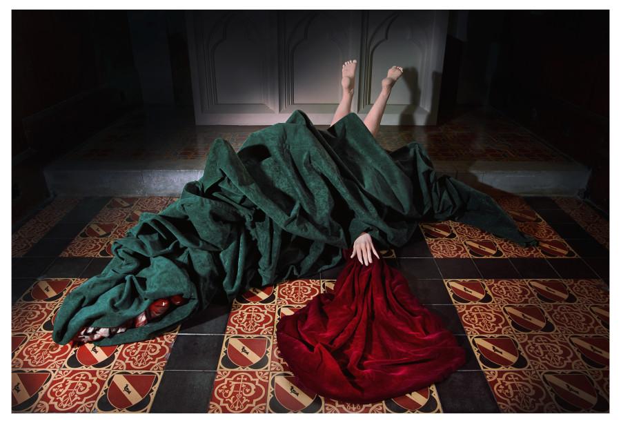 Liane Lang, Margareth in the Dragon, 2015
