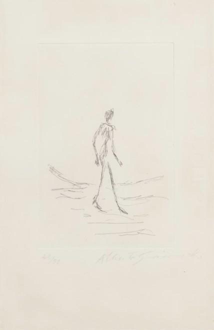 Walking Man, L'homme qui marche