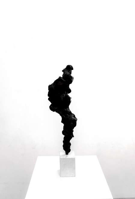 Guy Haddon Grant, Black Totem no. 2, 2017-2018