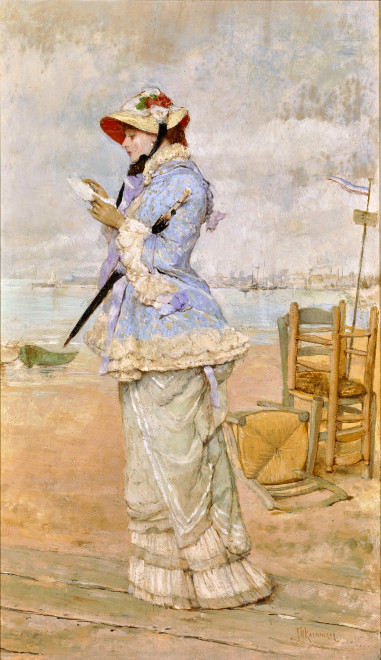 LADY BY THE SEA