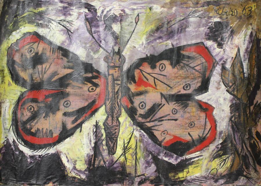 Lancelot Ribeiro, Butterfly, 1963