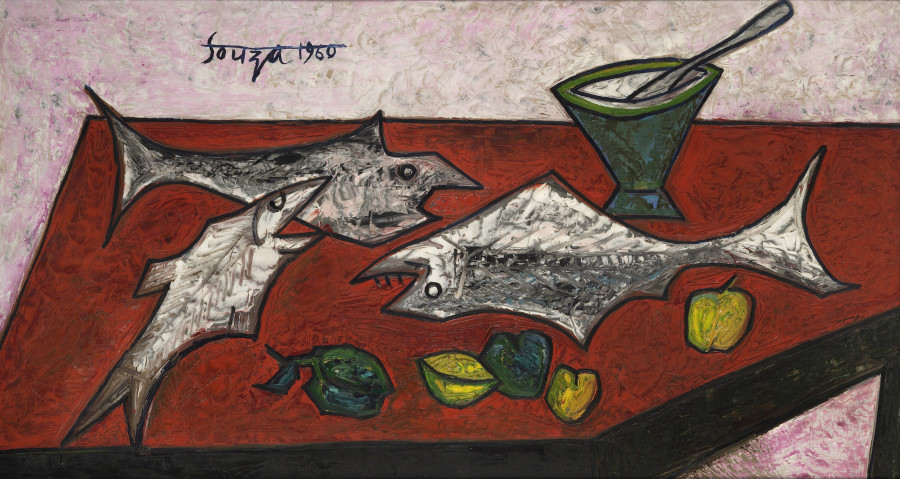 Still Life with Three Fishes