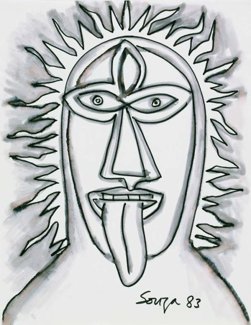 Francis Newton Souza, Head of Kali, 1983
