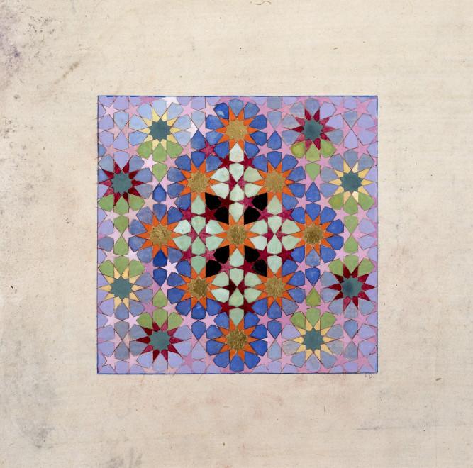 Elisabeth Deane, Diamond Cross Geometry, 2019