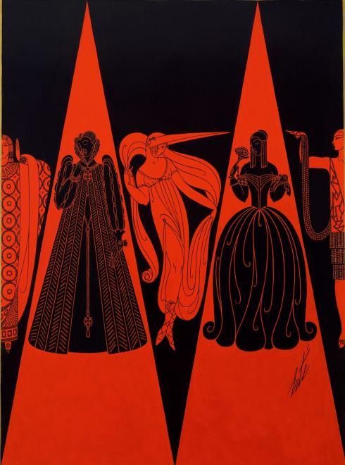 Romain de Tirtoff dit Erté, Les Modes se suivant et ne se ressemblent pas, 1926