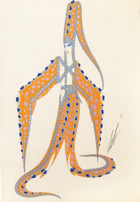 Romain de Tirtoff dit Erté, Starfish, 1946