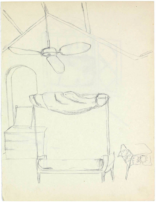 Bhupen Khakhar, Interior Study II and III Residency Bungalow, Baroda