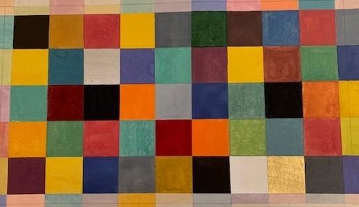 Elisabeth Deane, It's All about the Colours, 2019