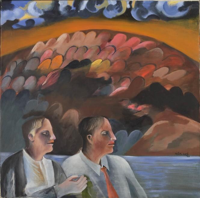 Bhupen Khakhar, Twins, 1990