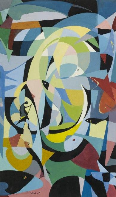 Hafiz El-Drubi, Untitled, 1960