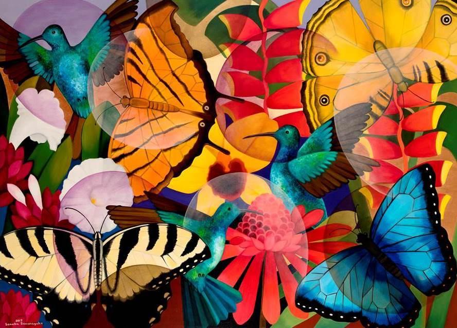 Senaka Senanayake, Butterflies, 2017