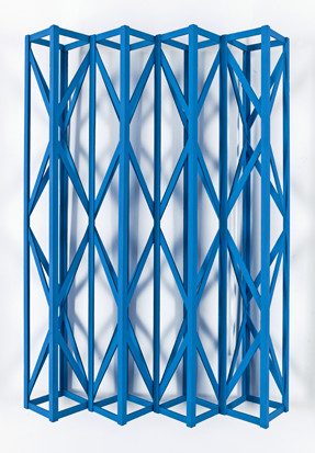 Rasheed Araeen, Summer Blue, 2014