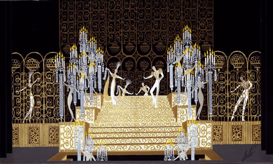 Romain de Tirtoff dit Erté, Stage Set, 1971