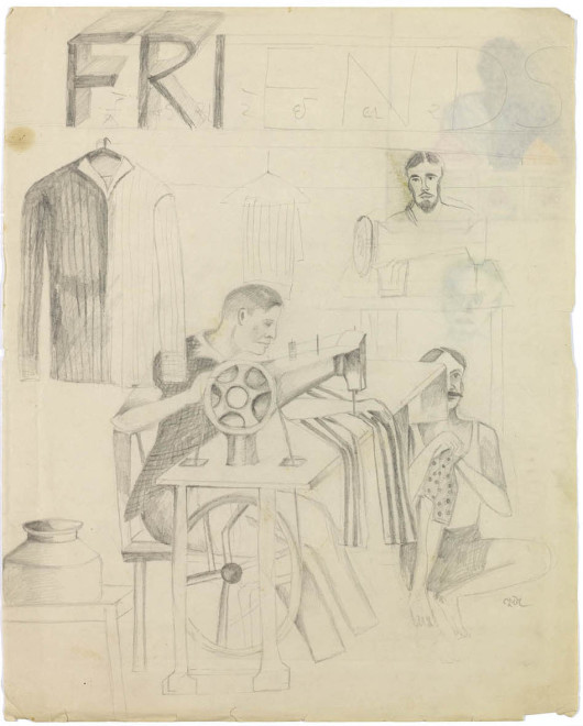 Study of the Tailor's Shop