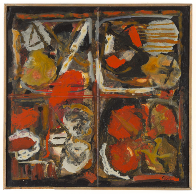 Sayed Haider Raza, Composition, 1971