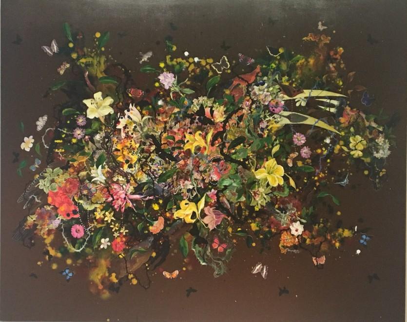 Priyantha Udagedara, Garden of Earthly Delight IV, 2016