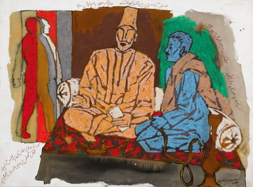 Maqbool Fida Husain, Untitled, 1984