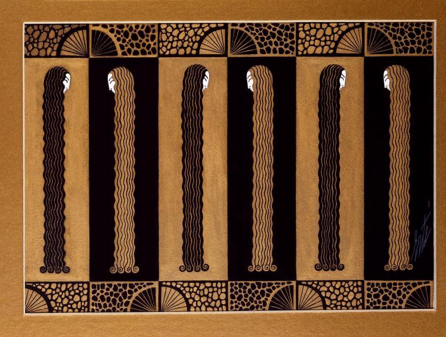 Romain de Tirtoff dit Erté, Curtain, 1927
