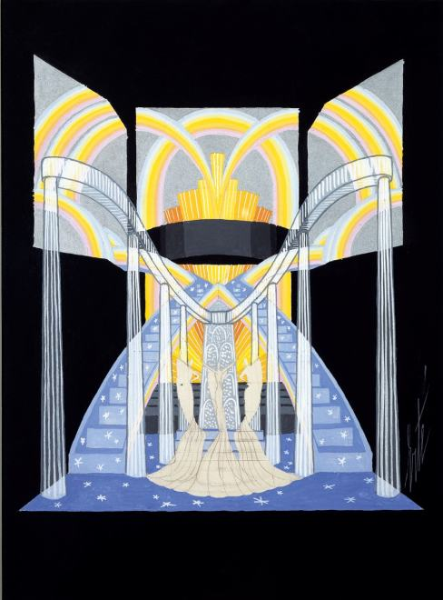 Romain de Tirtoff dit Erté, Stage Set, 1936