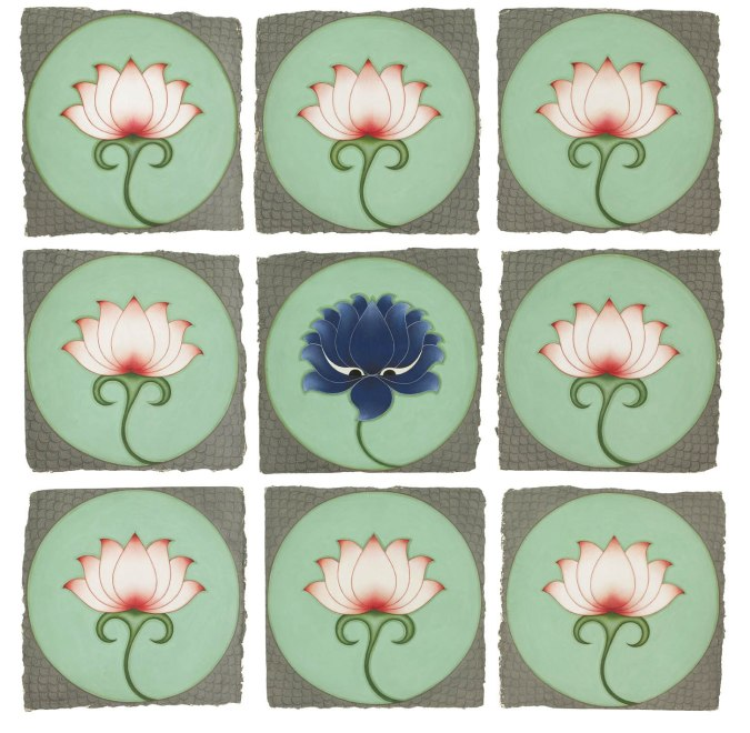 Olivia Fraser, The Blue Lotus, 2012