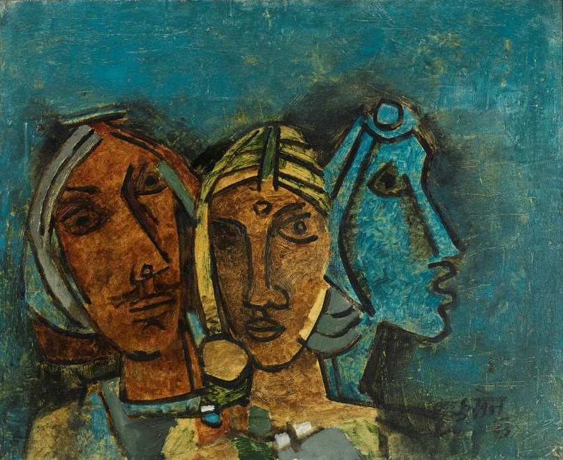 Untitled (Three Heads, Rajasthan)