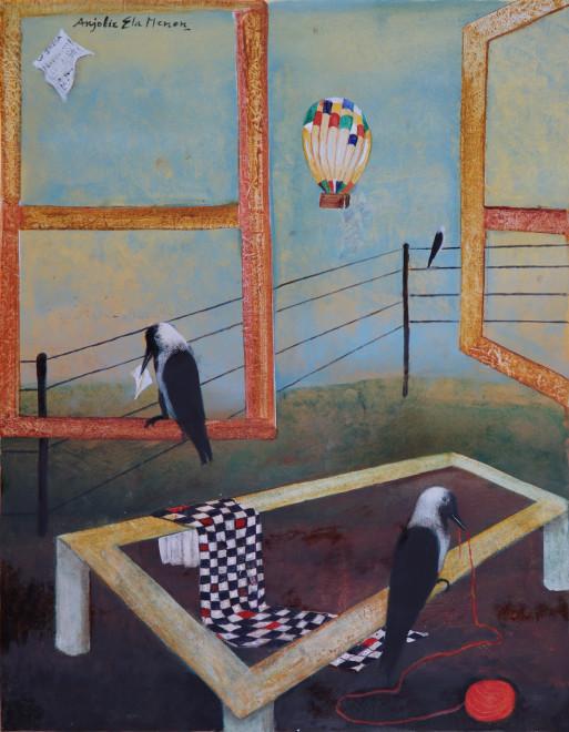 Anjolie Ela Menon, Landscape, 2013