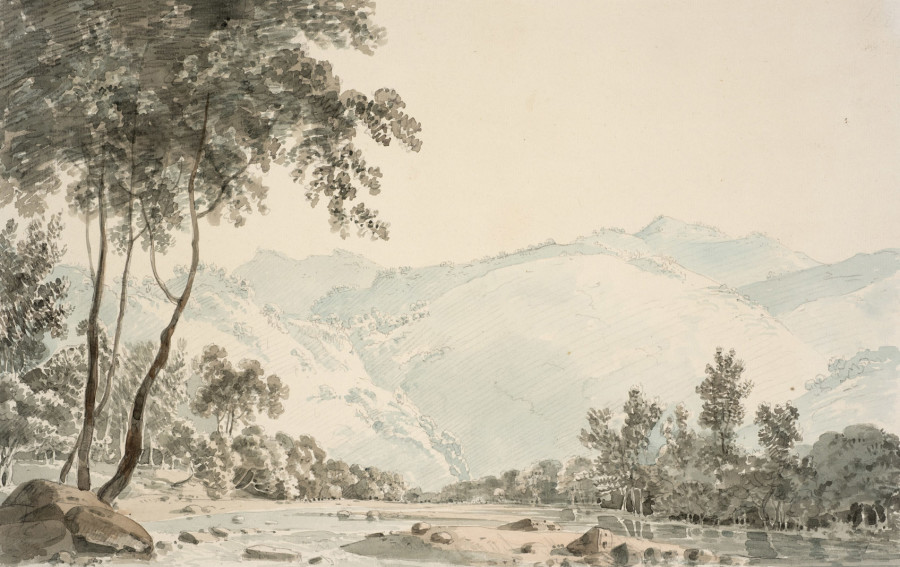 Thomas Daniell, Lolldong, India