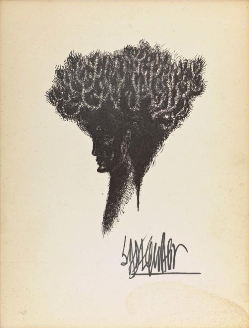 Syed Sadequain, Head V, c.1966