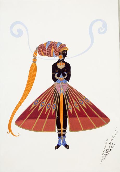 Romain de Tirtoff dit Erté, Slave Costume, 1921